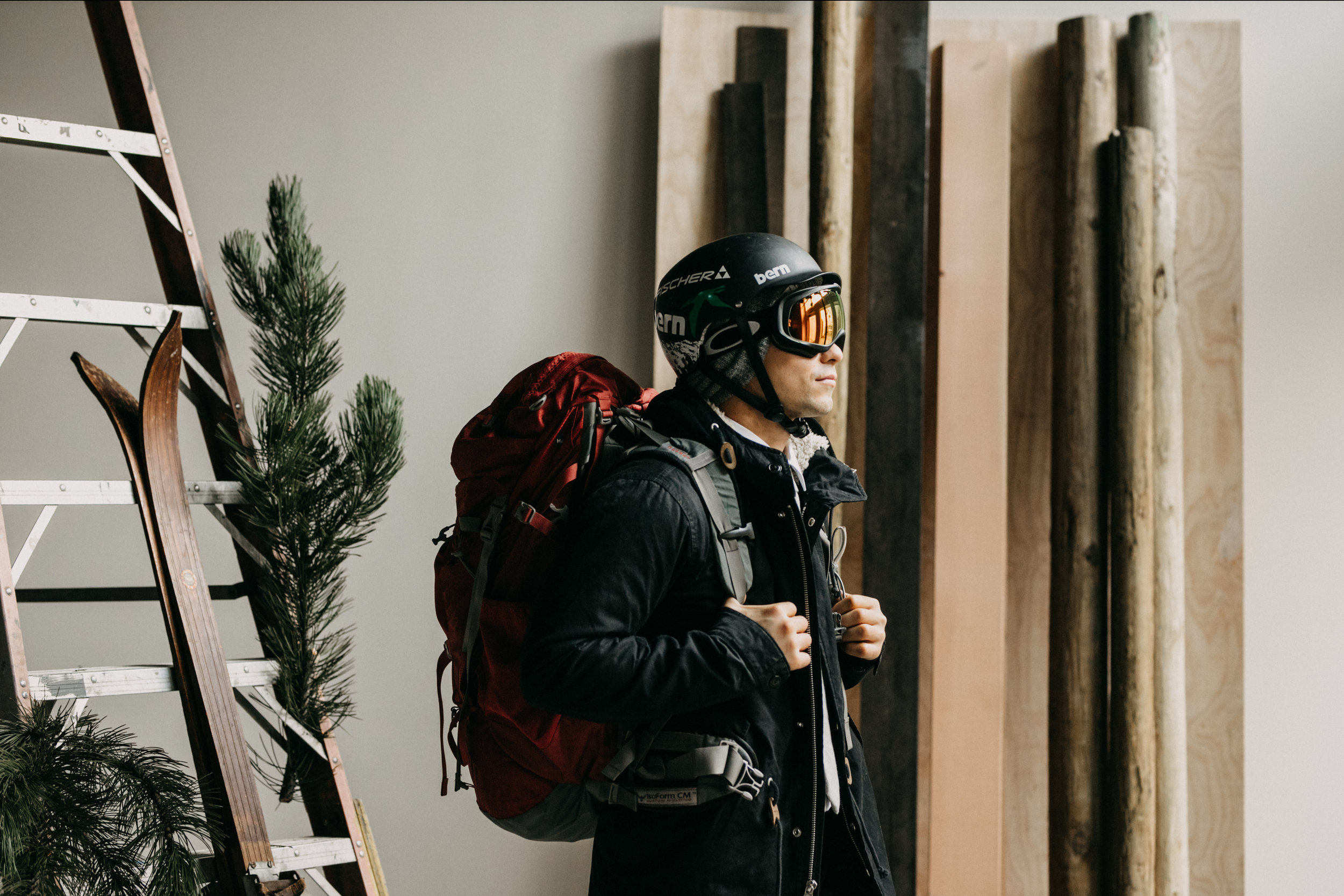 Eco-Conscious Aprés SkiElopement - Portland, OR