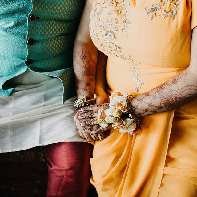 Sharing a sneak peak of Amreen and Ryan at their pithi/ haldi ceremony. . . . #celebrateyourlove #belovedstories #wedmegood  #apracticalwedding #hennawedding #pithiceremony #haldiceremony #southasianculture #weddingsutra #wedmegood #offbeatbride #davidannphoto #davidannwedding #rockandrollwedding #maharaniweddings