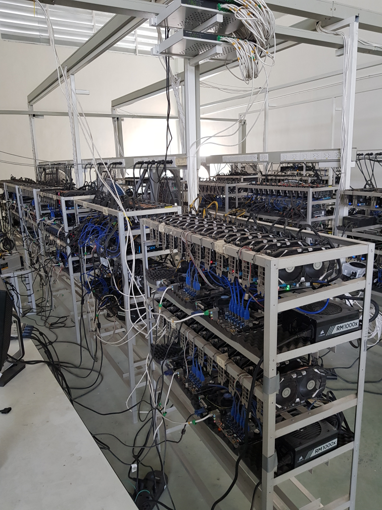 With 700 GPUs/FPGAs in our larger warehouse