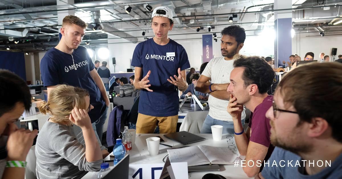 Laurens Verspeek, Chief Architect at EOS London Hackathon