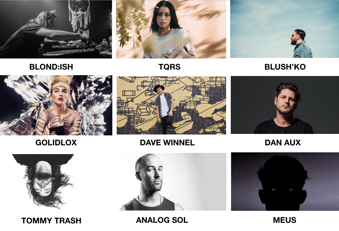 Some of our top artists