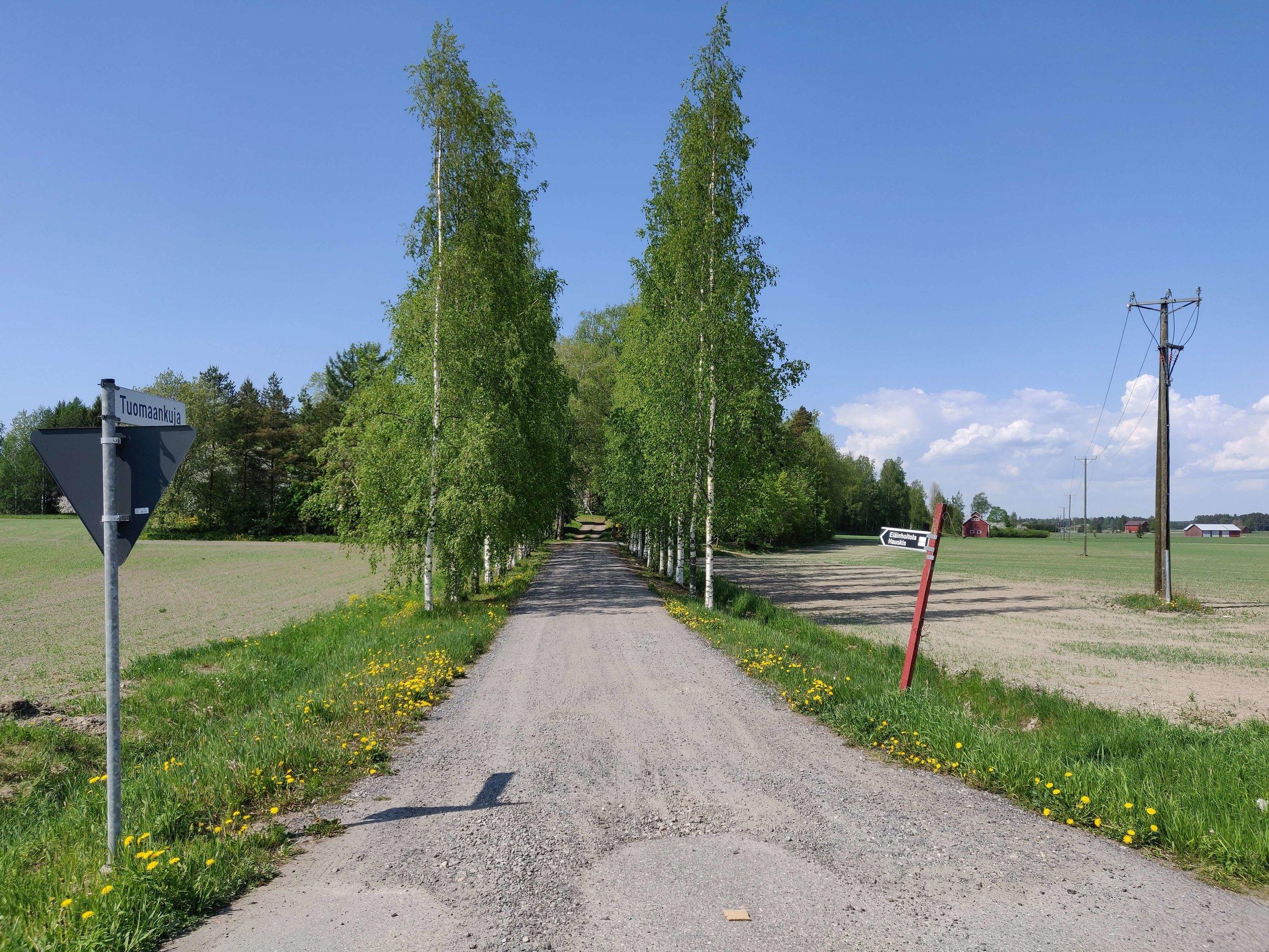 Näkymiä Turku-Tampere-tieltä