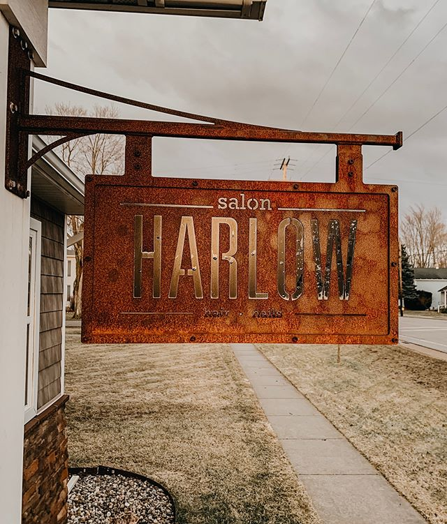 Is the Groggy Weather bringing you down? Make an appointment today, and let us brighten you up! ☀️ • #SalonHarlow #HairSalon #SchoolcraftHair #Michigan #MichiganHair #KalamazooBeauty #HairGoals #NewHair #Balayage #EyelashExtensions