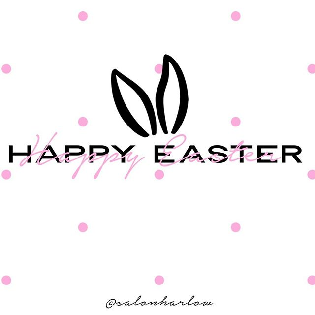 Wishing you all the 𝐻𝒶𝓅𝓅𝒾𝑒𝓈𝓉 𝐸𝒶𝓈𝓉𝑒𝓇! xo, the girls of Salon Harlow 🐰💕 • #SalonHarlow #HairSalon #SchoolcraftHair #Michigan #MichiganHair #KalamazooBeauty #HairGoals #NewHair #Balayage #EyelashExtensions #BeforeandAfter #EasterSunday #Colorist #Facial