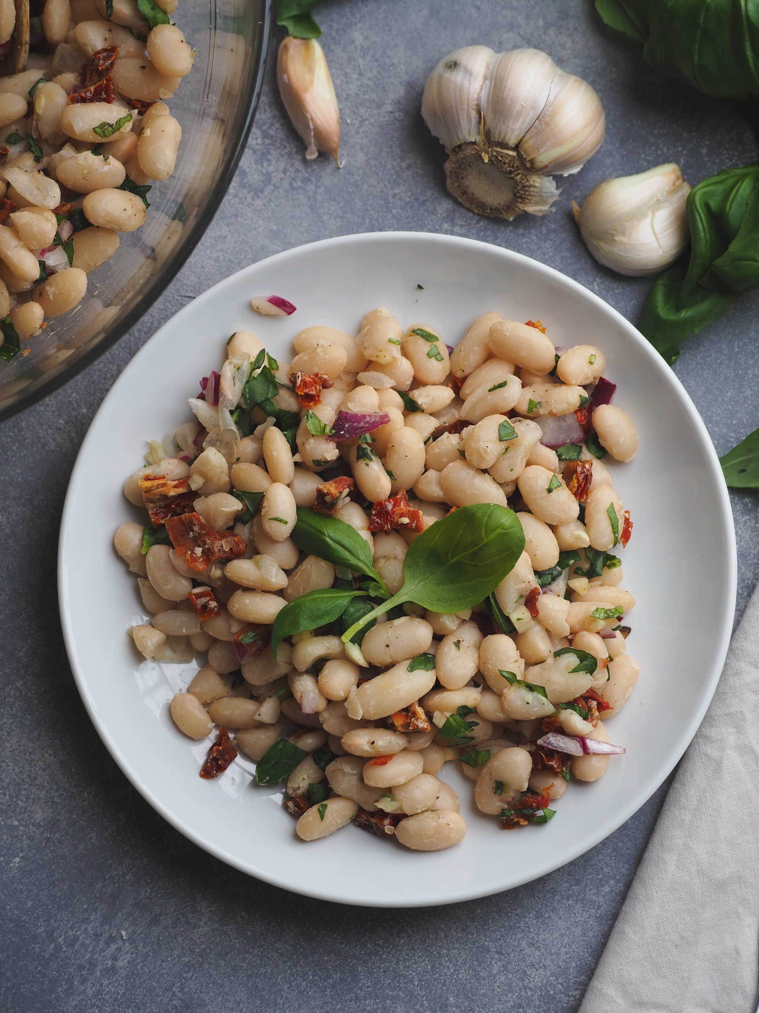 White Bean Salad | Plant-Based Vegan