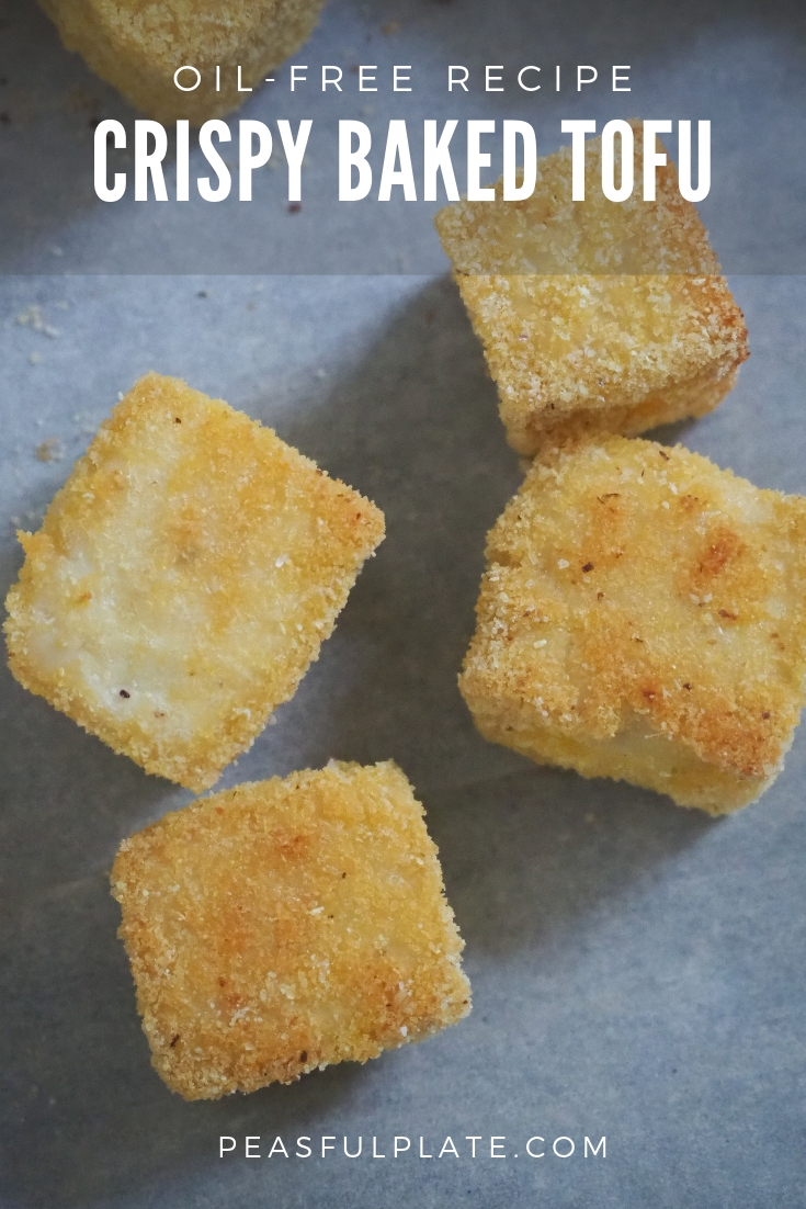 Crispy Baked Tofu | Oil-Free Recipe | Gluten-Free | Easy Vegan Recipe