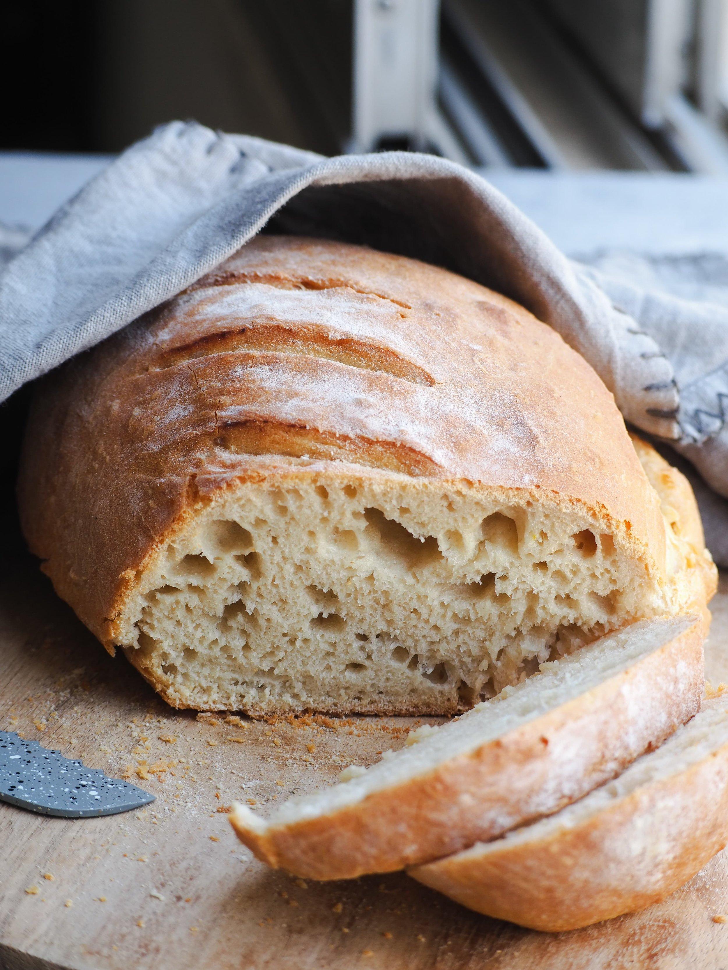 Spelt Bread | Easy Vegan Bread Recipe | Spelt Flour