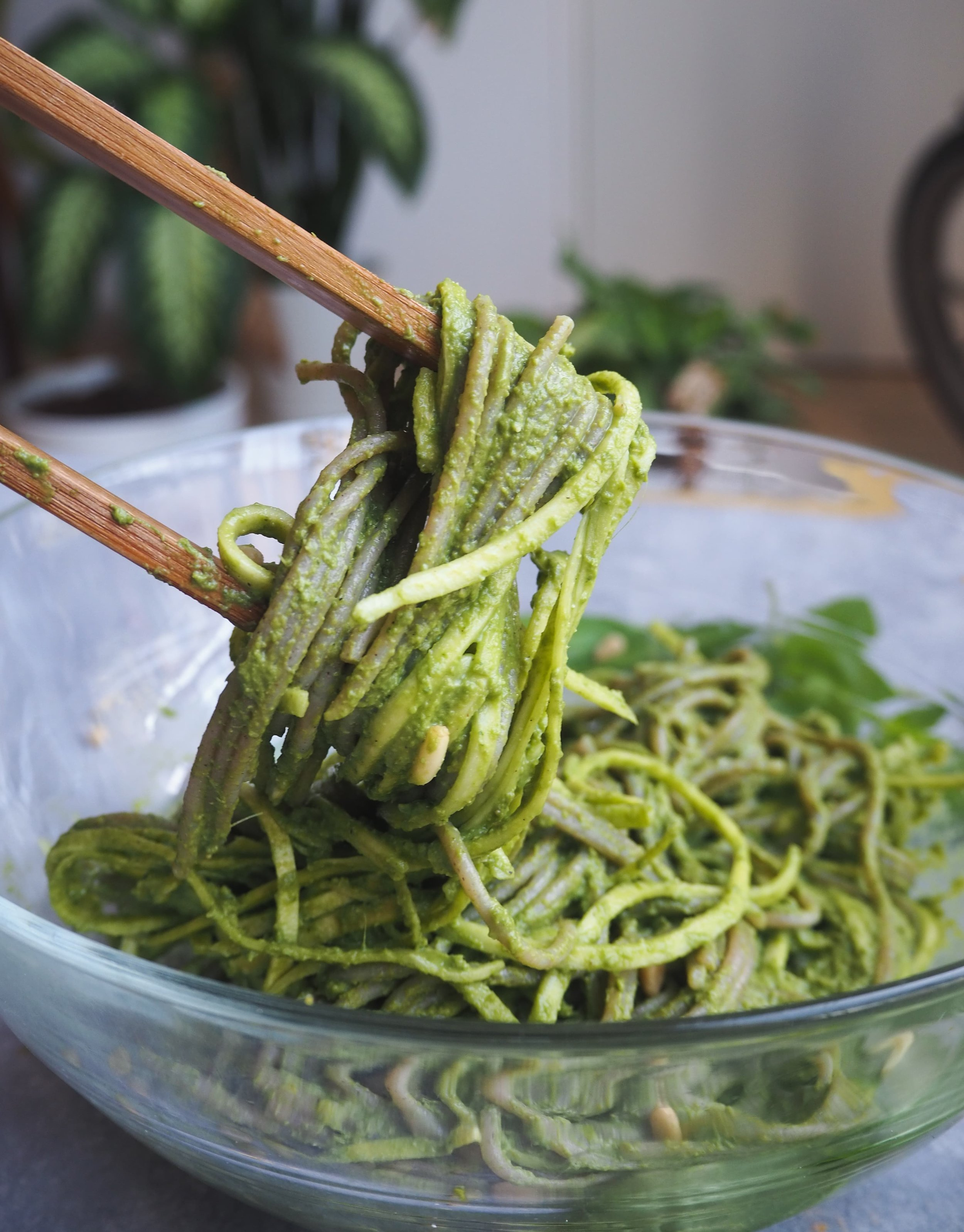 Vegan Pesto Pasta Recipe | Easy Vegan Recipe | Gluten-Free