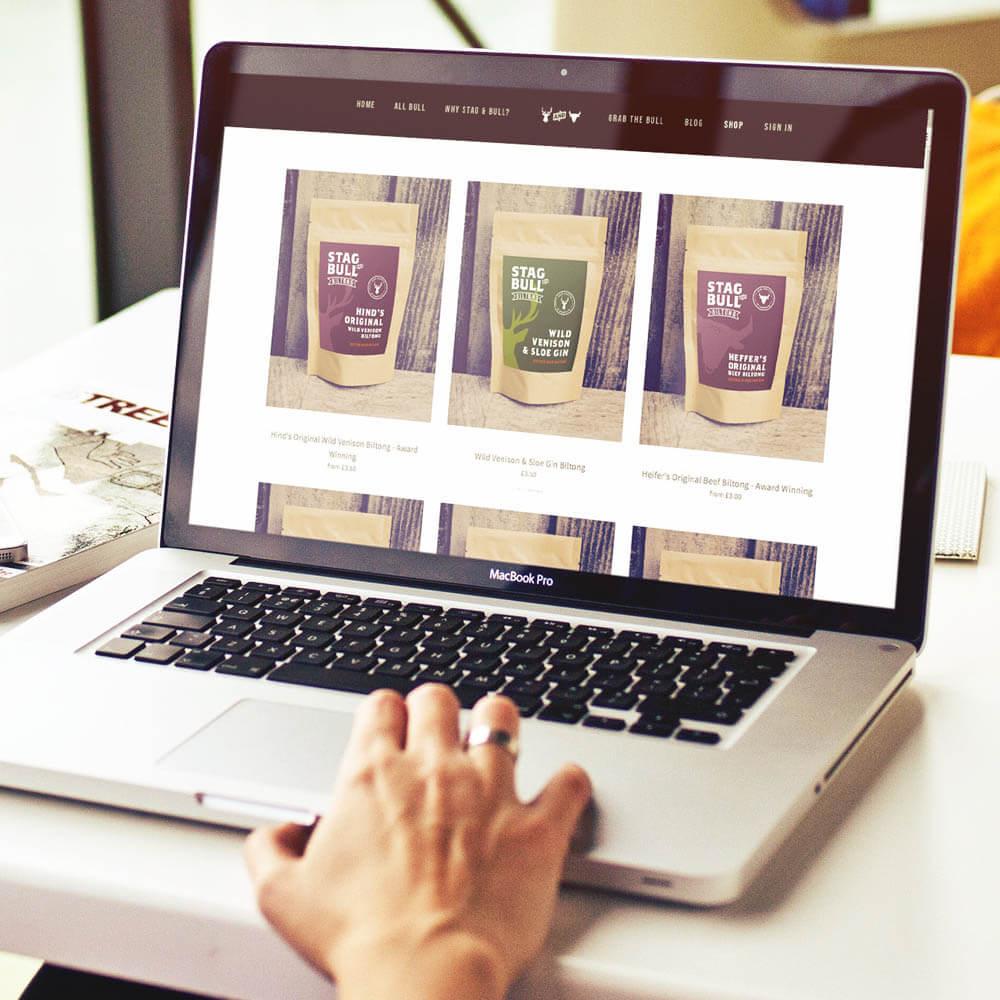 Copy of Website shop design