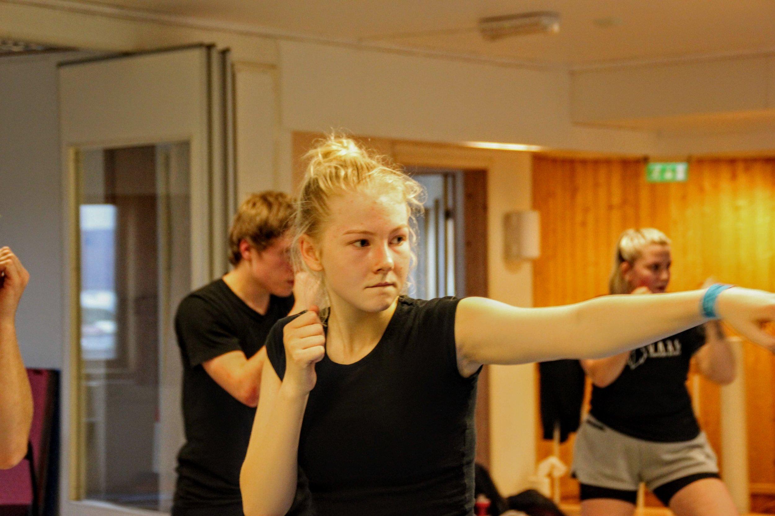 Endelig er selvforsvar tilbake i Ulsteinvik