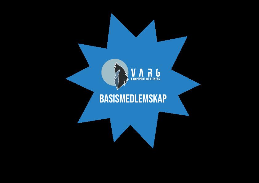 Basismedlemskap - 2 treninger/uke - 399 kr/Mnd - Du kan velge mellom å betale hver måned, hver 6. måned eller hver 12. måned.Inkluderer alle rabatter og medlemsfordeler som følger et medlemskap i Varg Kampsport.