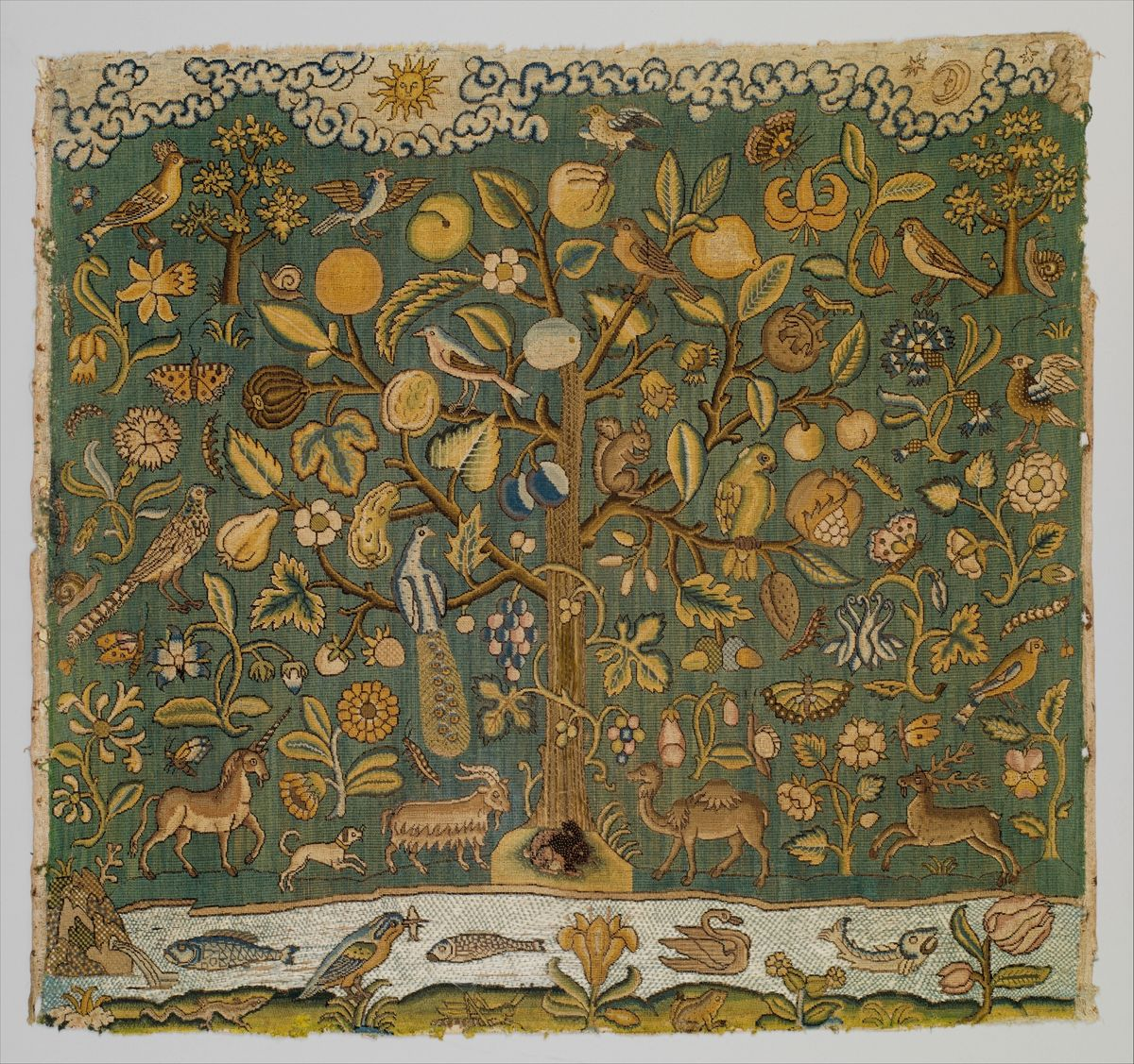'The Tree of Life'  17th Century Britain  Met Museum