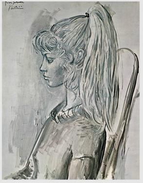 Picasso,   Portrait de Sylvette  , 1954. © Succession Picasso 2019