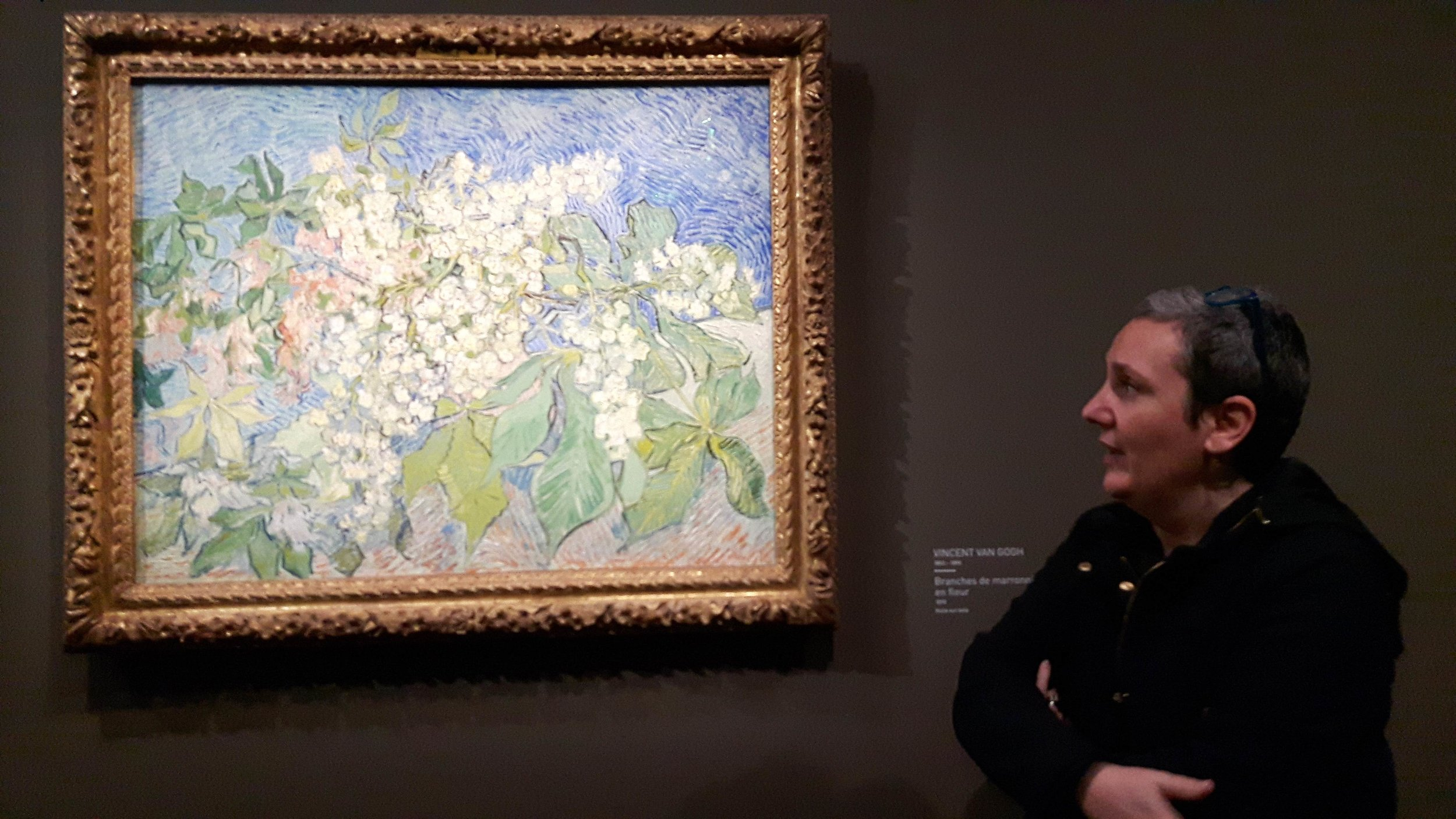 Visite d'une exposition au Musée Maillol.