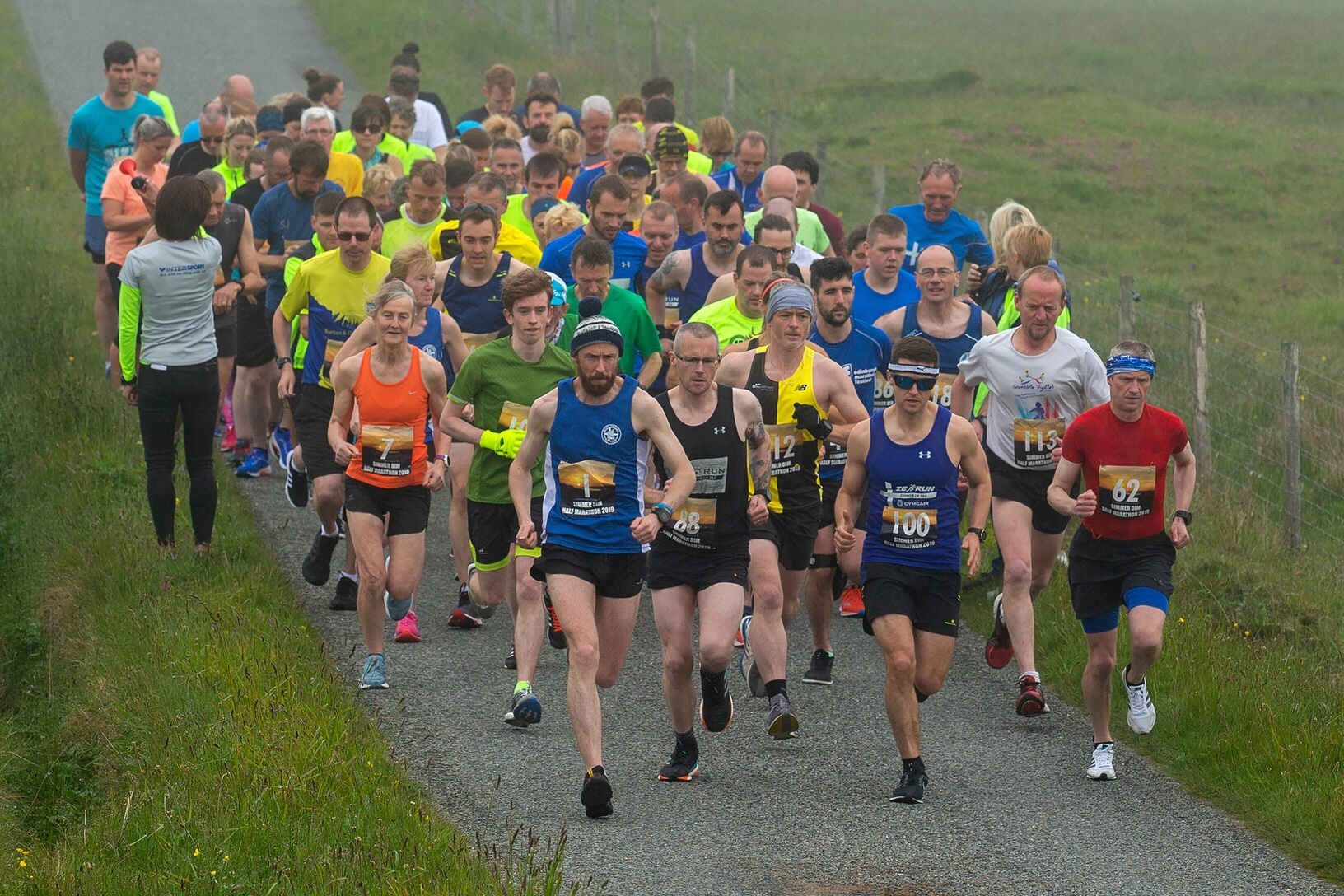 Simmer Dim Half Marathon won by Daye - Shetland's annual Half Marathon is a success