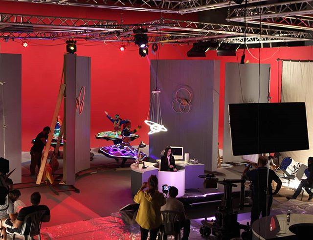 Red season 🎥 #camouflageprod #setbuilding  #motion #studio