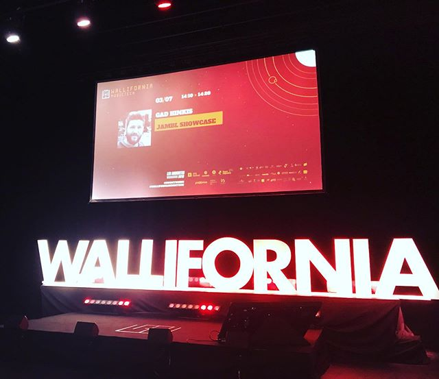 Jambl showcase in our favorite music tech convention #belgium #wallifornia #musictech #startup