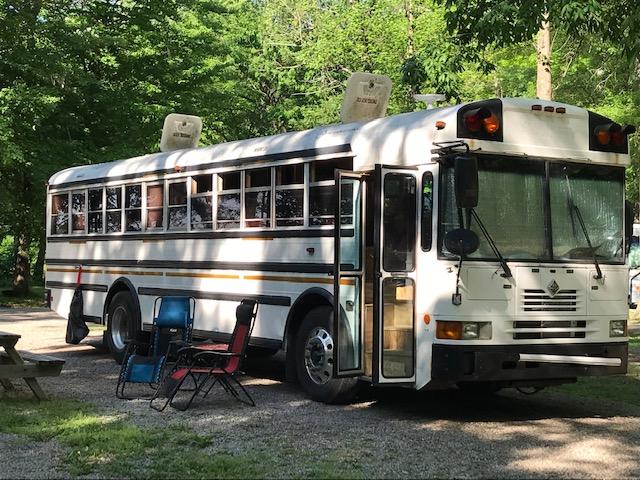 BUS LIFE BEGINS HERE - Join us on our skoolie adventures