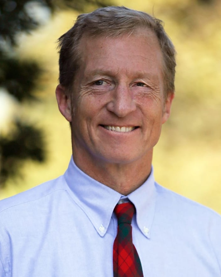 Tom Steyer - EMAIL: info@tomsteyer.comPHONE: TBD