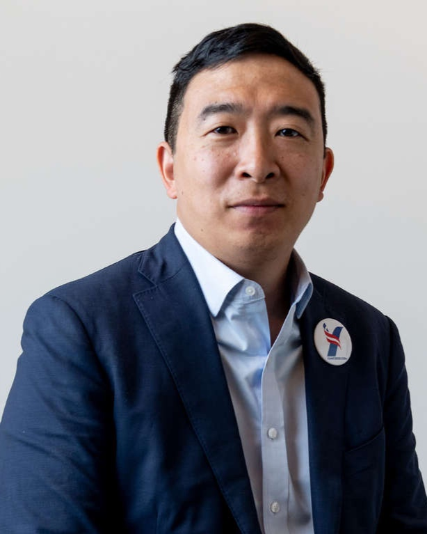 Andrew yang - EMAIL: info@yang2020.comPHONE: TBD