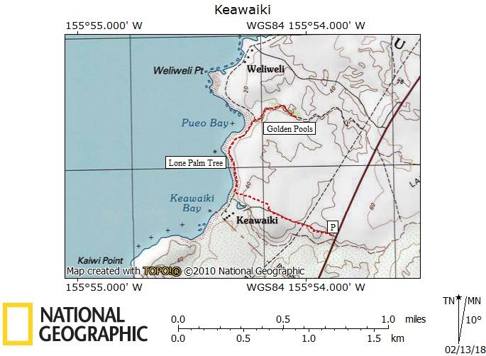 Keawaiki Map