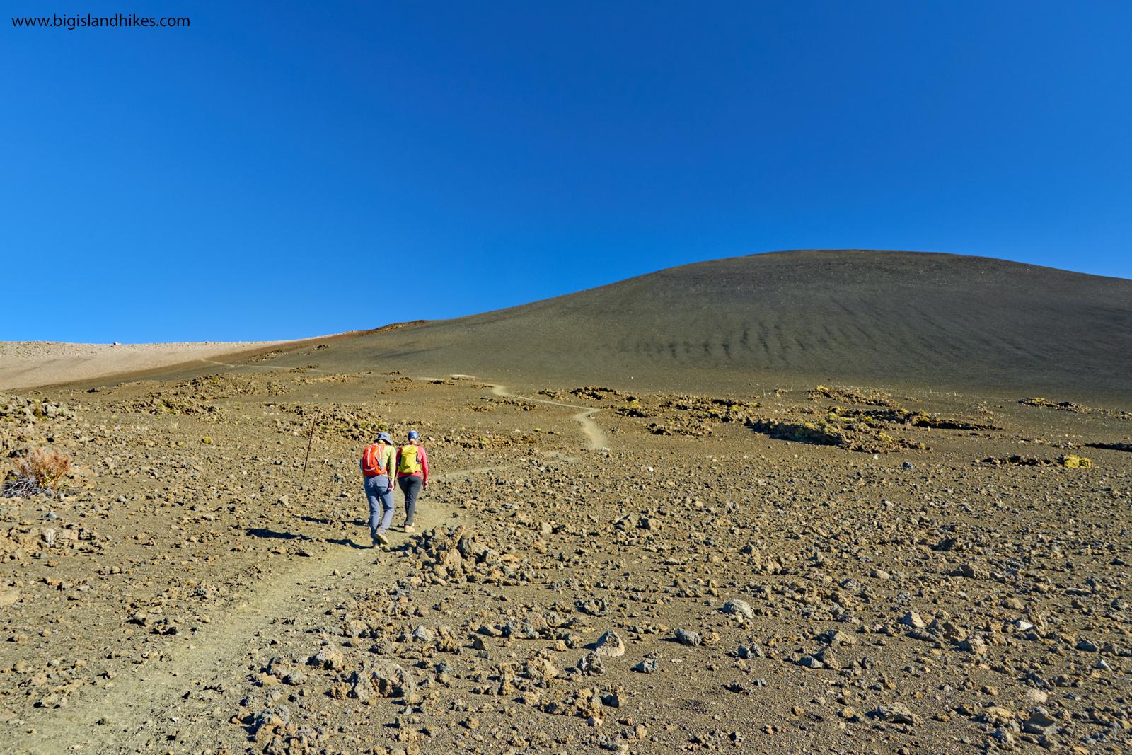 Hiking Mauna Kea