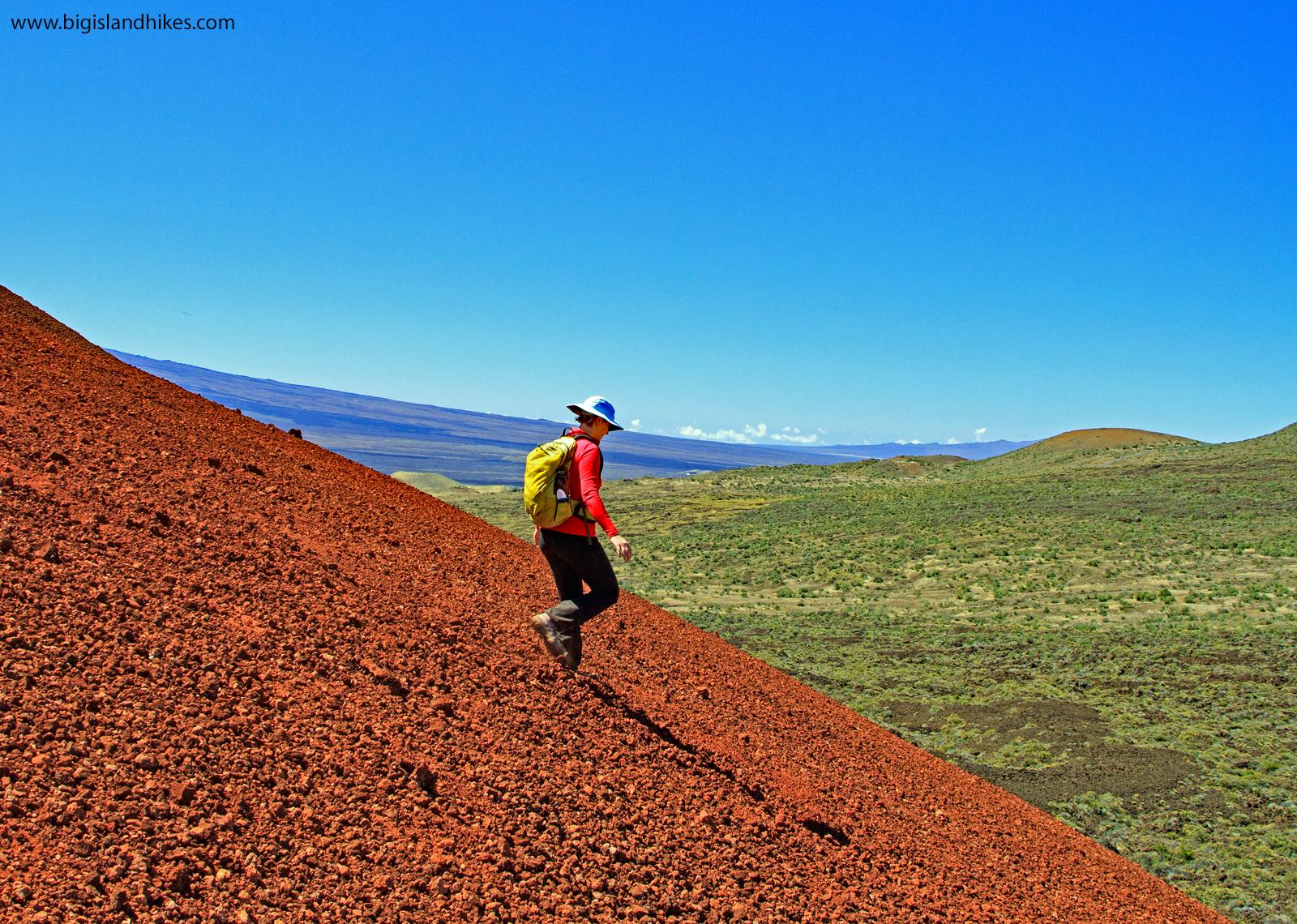 Descending Pu'u Kole