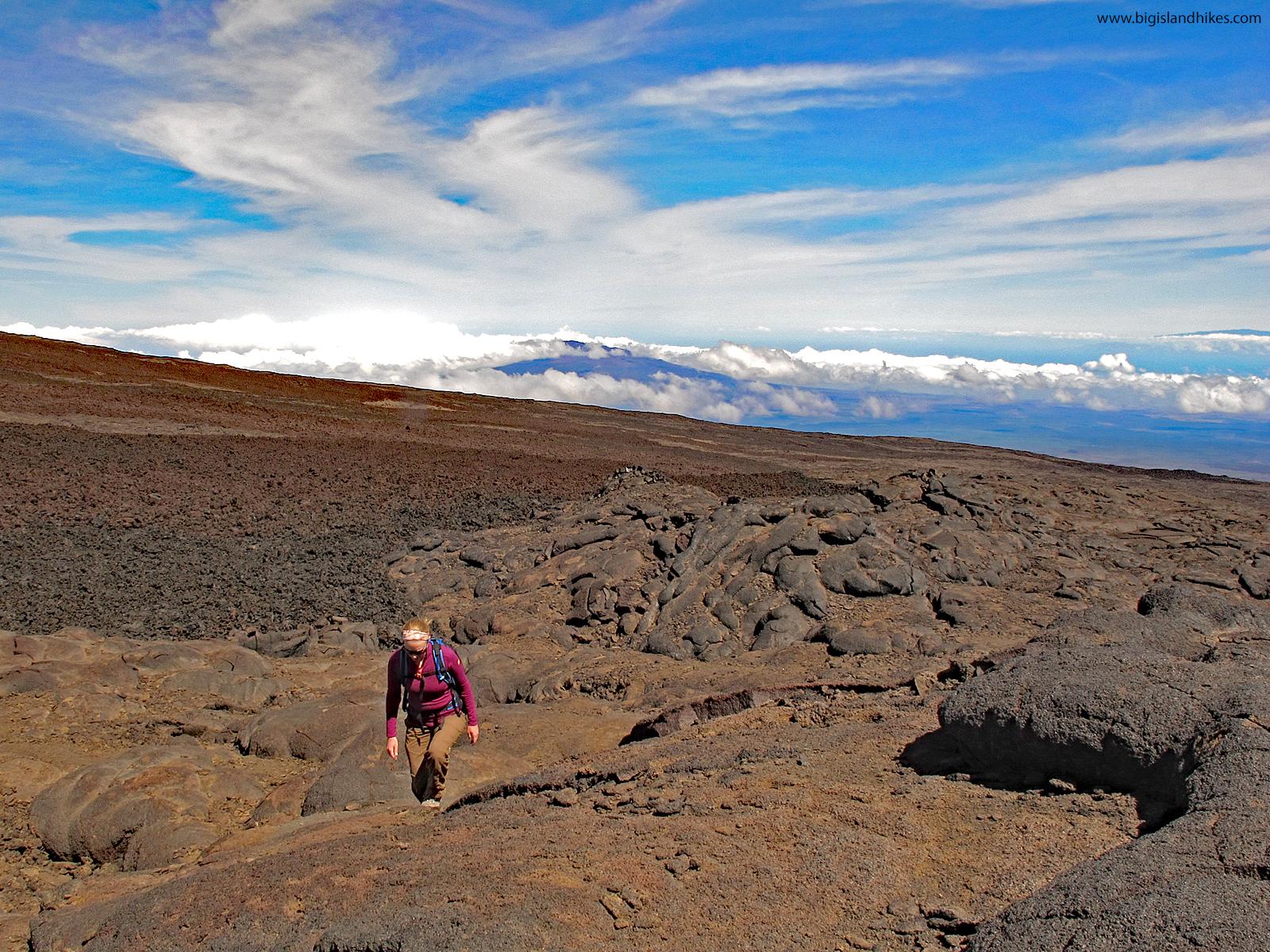 Climbing Mauna Loa