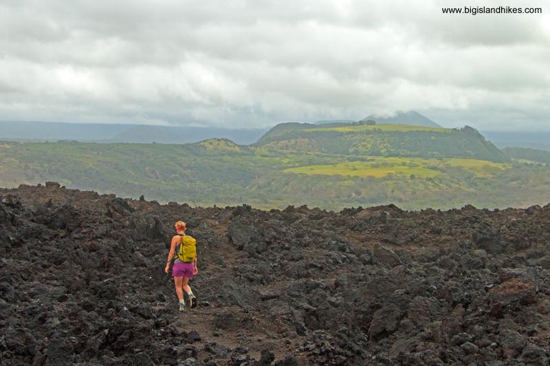 Harsh Lava hiking