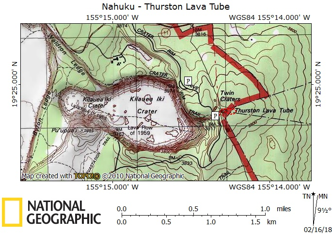 Nāhuku - Thurston Lava Tube — Big Island Hikes on map of pickerington, map of steuben county, map of campbell, map of south eugene, map of burns park, map of stevens, map of urbana, map of canal winchester, map of deschutes, map of elmira area, map of yakima, map of pierce, map of ferry, map of thornville, map of seaholm, map of chelan, map of fairfield county, map of corning, map of mason, map of snohomish,