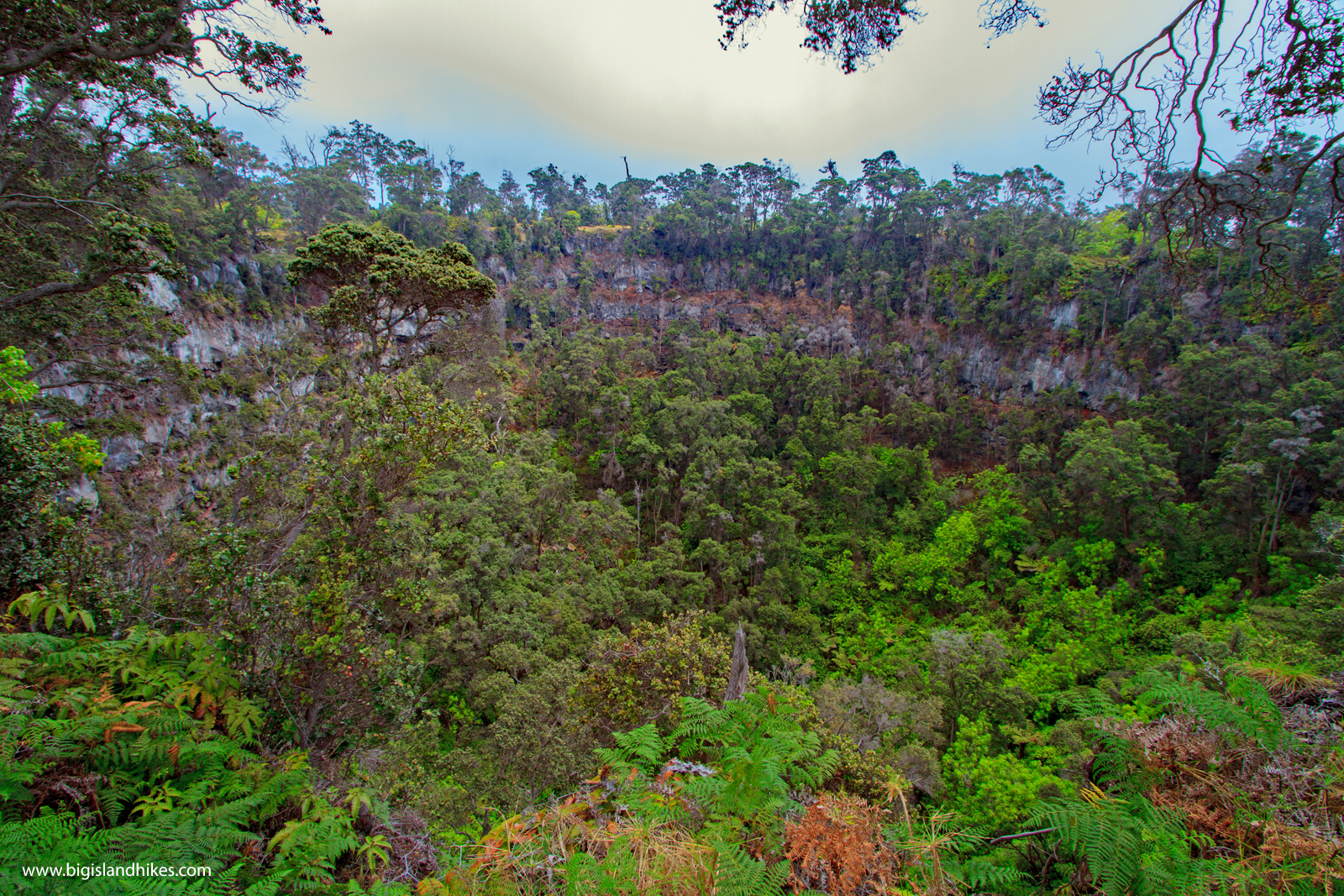 Pit Crater Trail