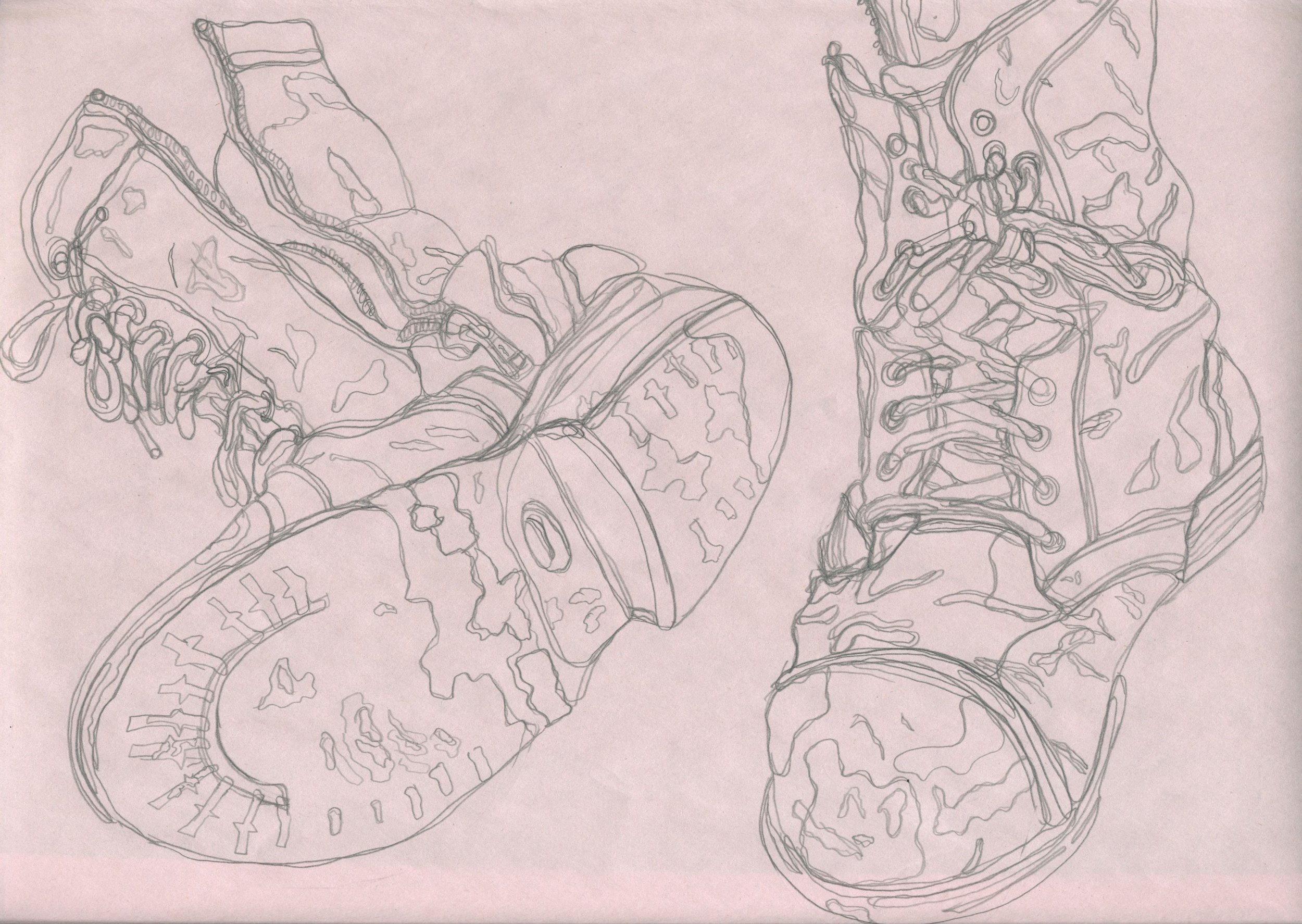 """""""Boots"""" / Artwork by Morgan MacVaugh"""