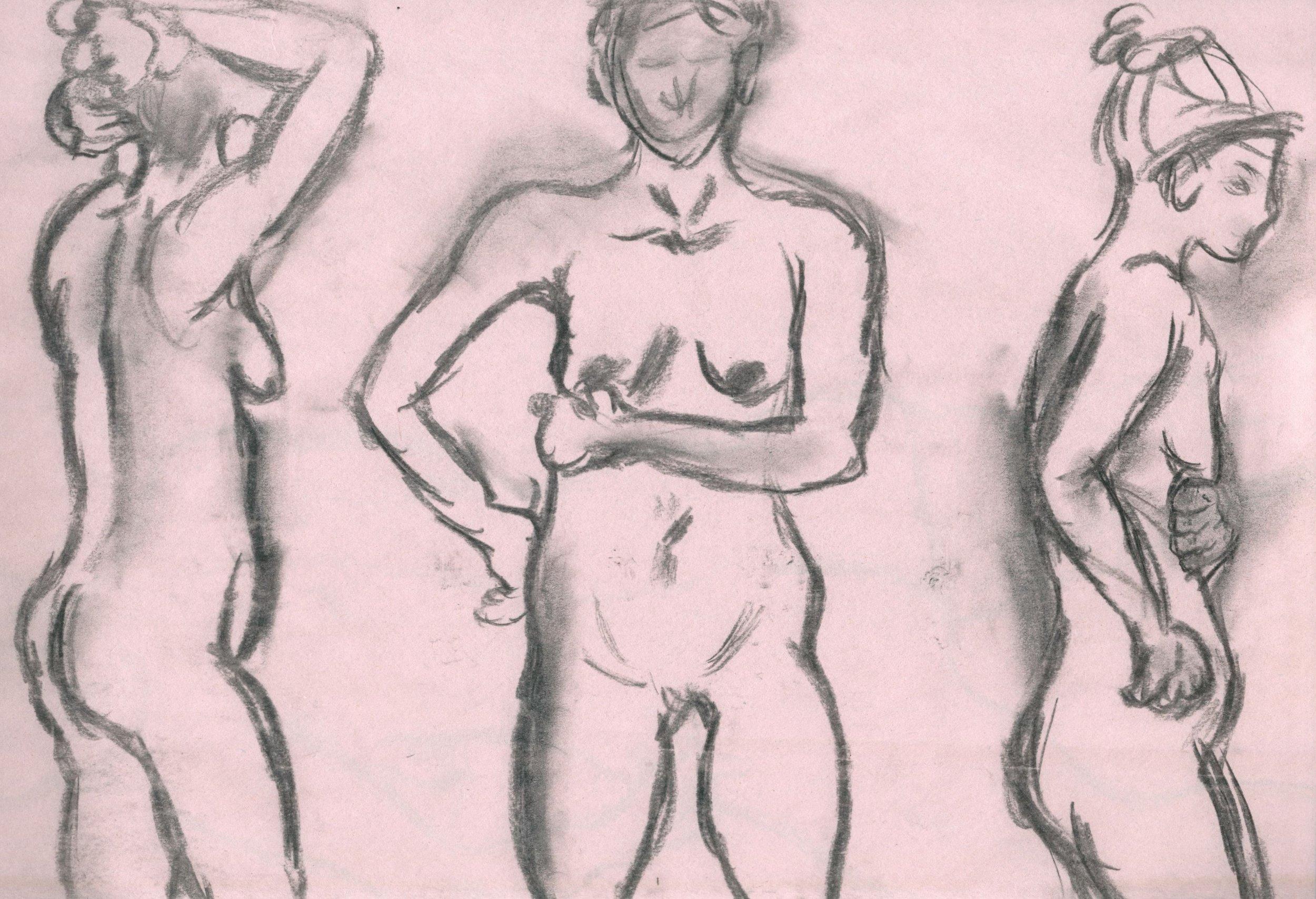 """""""Figures"""" / Artwork by Morgan MacVaugh"""