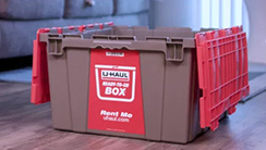 Rent Reusable Boxes vs. Buying Cardboard. -
