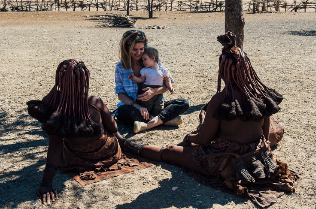- The Himba are a semi-nomadic, pastoralist tribe in the northwest corner of Namibia bordering Angola.