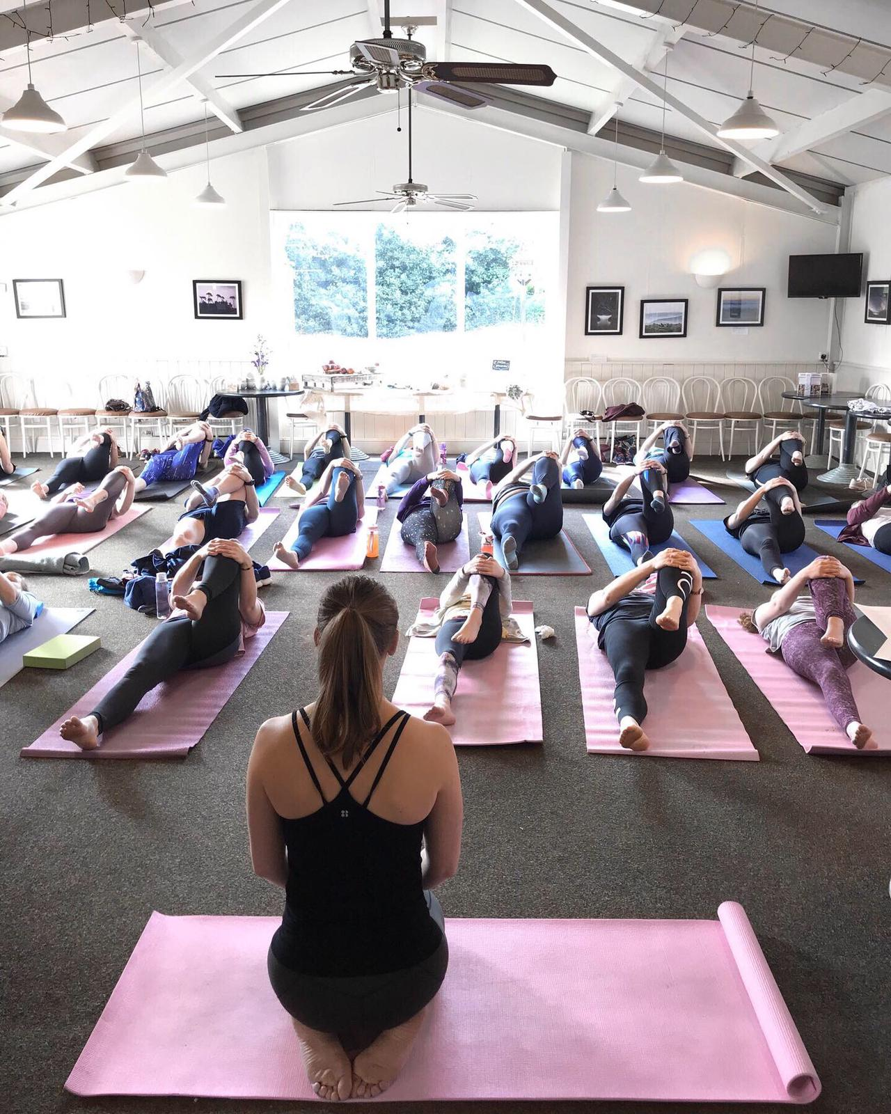 Yoga at Brymor