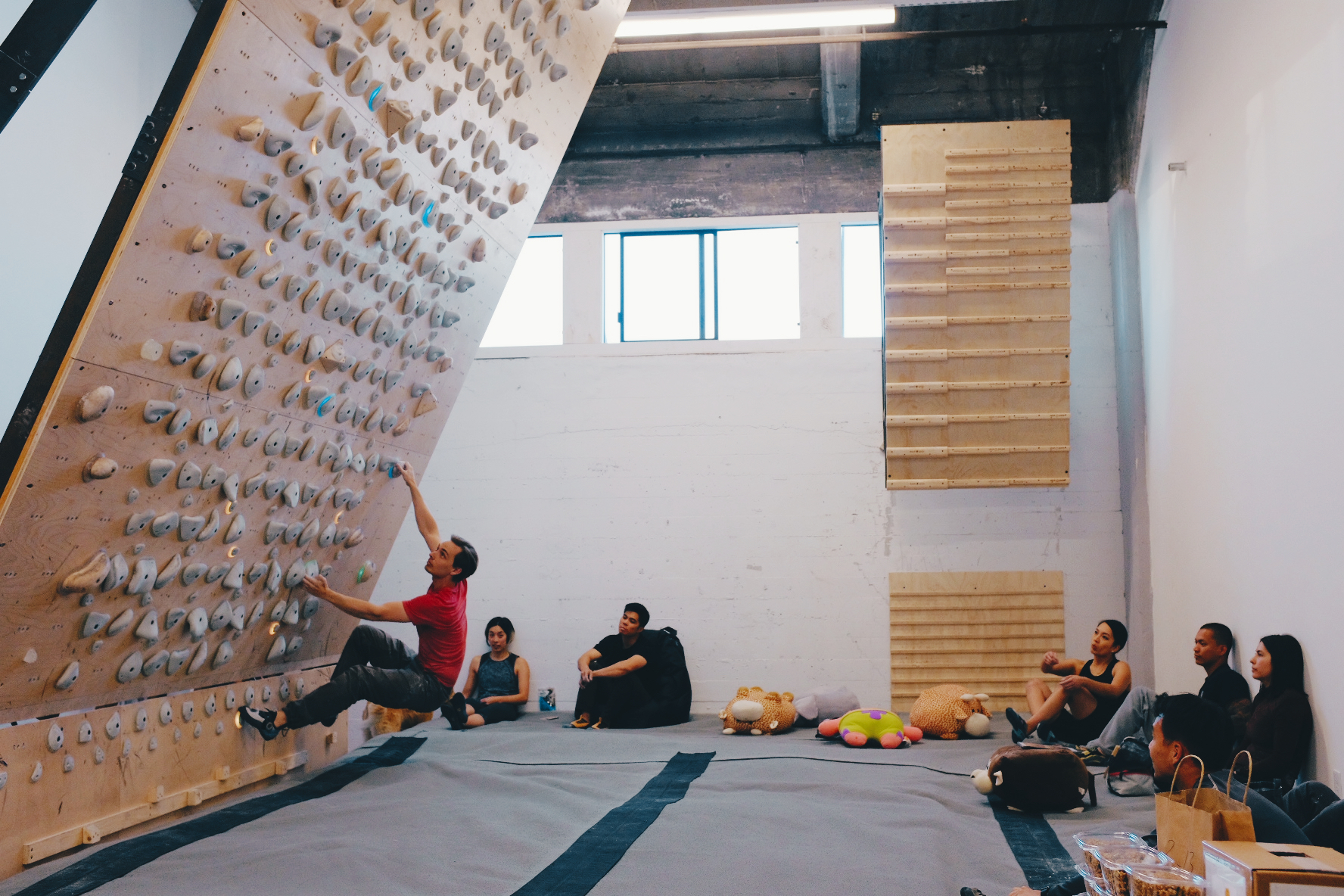 Thanks to everyone who came and climbed!