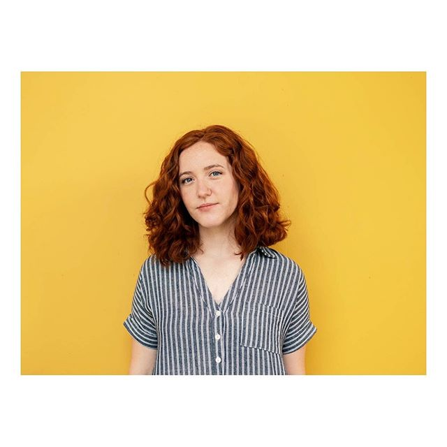 New headshots last week thanks to @rubyolivia.photography! Can't get enough of this yellow backdrop.