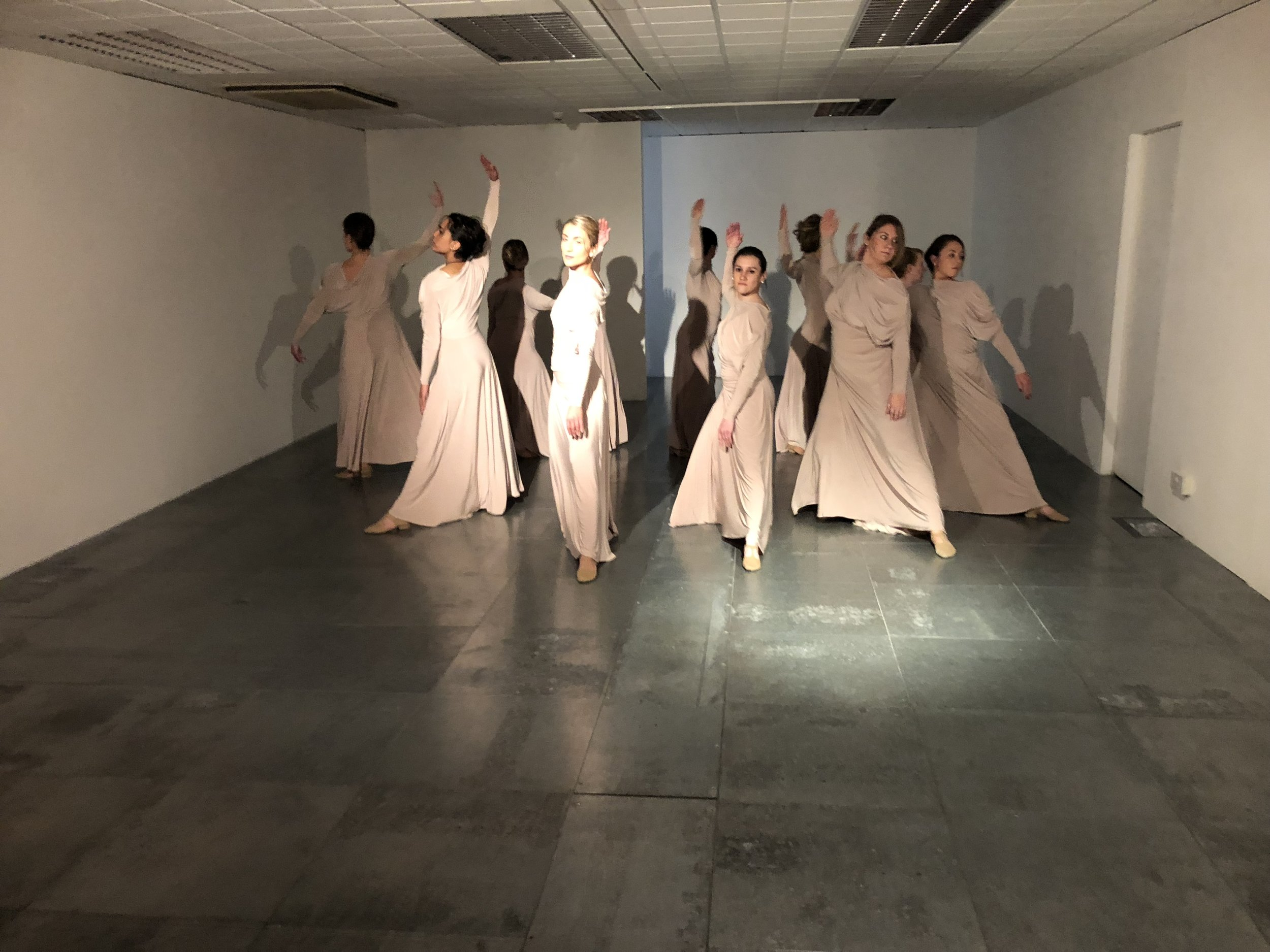 Tenfoot Dance Company, Angels of the North, Vane, October 2018.
