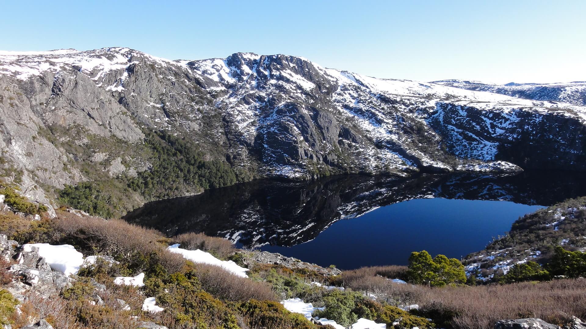 Crater Lake - Cradle Mountain Highlanders