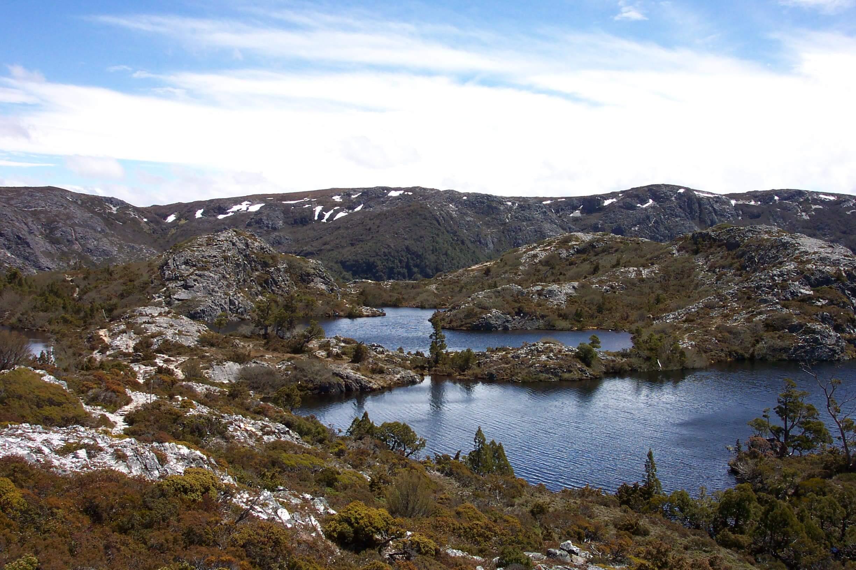 Hansons Peak and Twisted Lakes - Cradle Mountain Highlanders