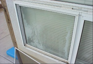 Home Inspector discovers failed thermal window seal