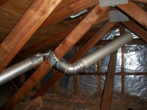 Home Inspection finds improper venting to attic