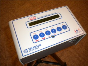 HomePro Home Inspections uses Sun Nuclear Continuous Radon Monitor