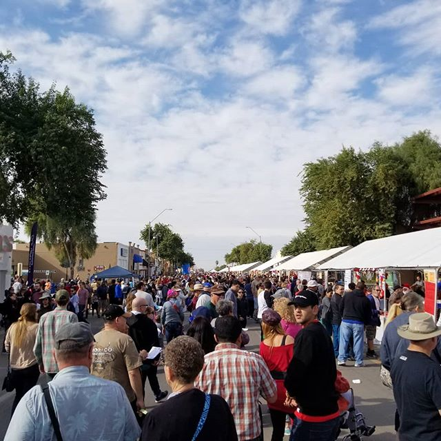 Beautiful day for the Somerton Tamale Festival #STF2017