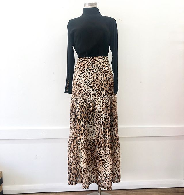 This Savannah Skirt is a must for this season, a timeless tiered maxi skirt made from 100% Ramie 🐆  Style this skirt with your favourite tee and sneakers for a casual look OR dress it up with a beautiful blouse and some heels!