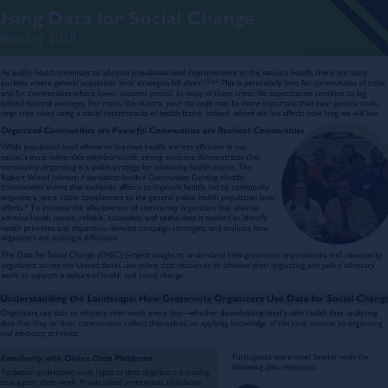 Using data for social change (english) -