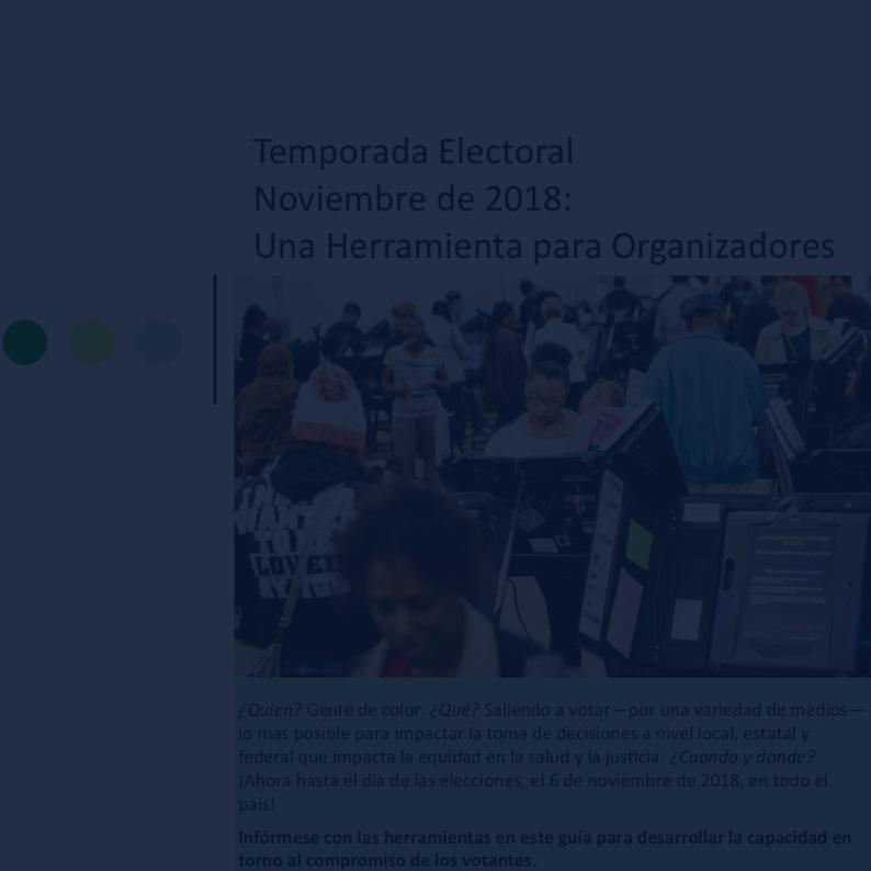 voter Engagement Toolkit (Spanish) -