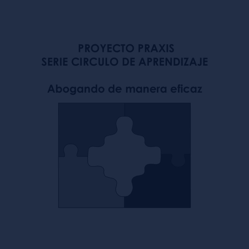 Effective Policy Advocacy (Spanish) -