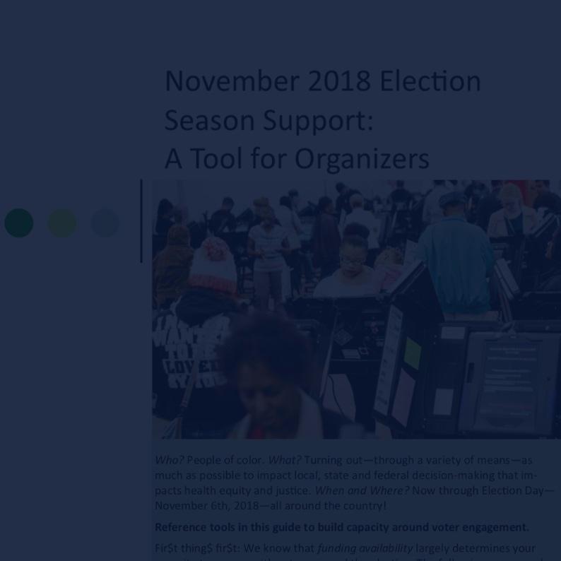 Voter Engagement Toolkit (English) -